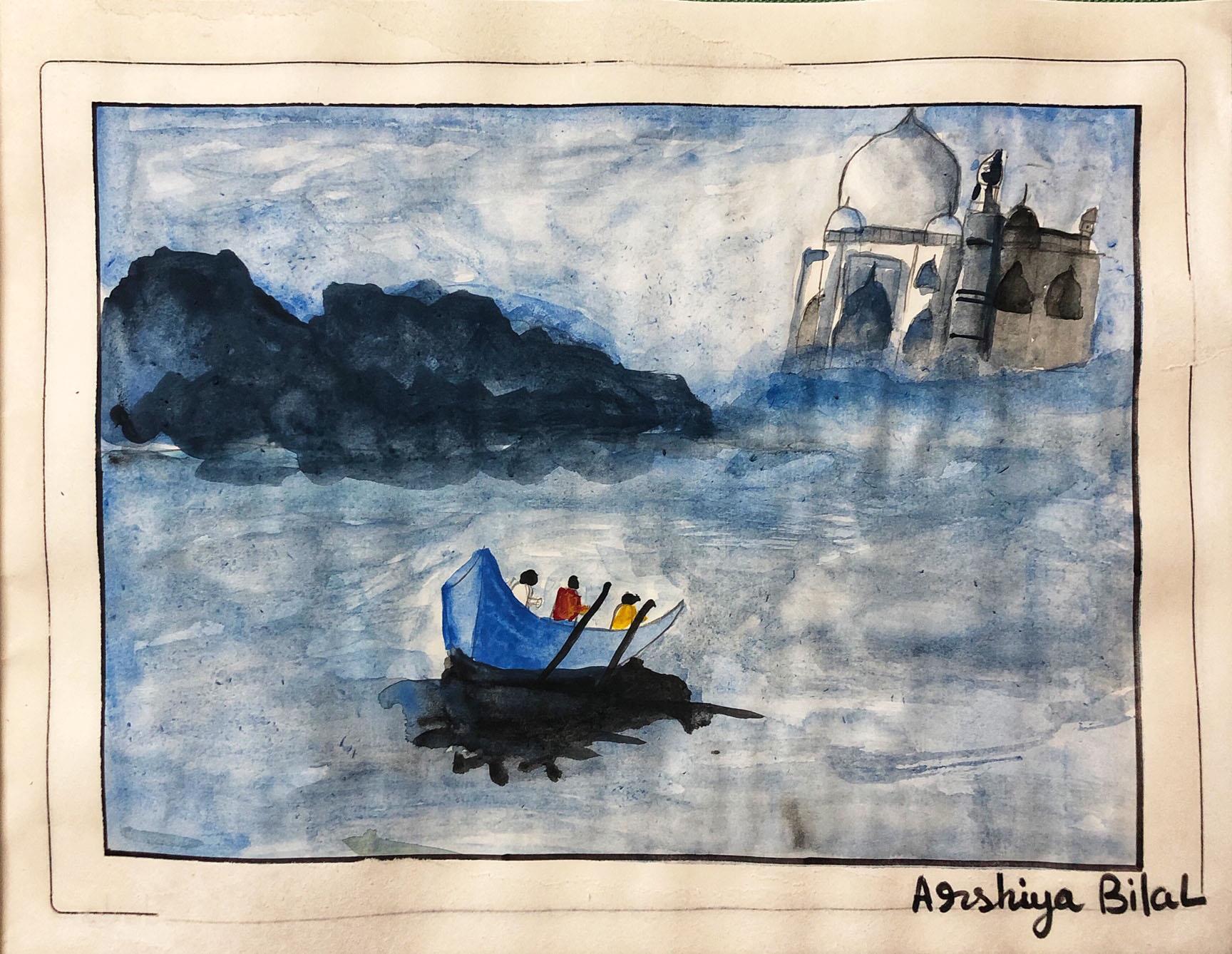 OVER THE YAMUNA : Arshiya Bilal