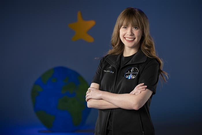 Hayley's Comet: Youngest With A Space Visa!