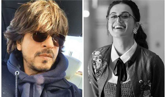 SRK, Taapsee in New Hirani Film