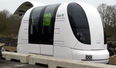 Driverless Pod Taxis