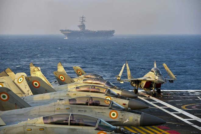 Quad Plus Naval Exercises