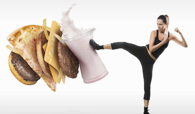 Eating Fast Food Leads To Stress!