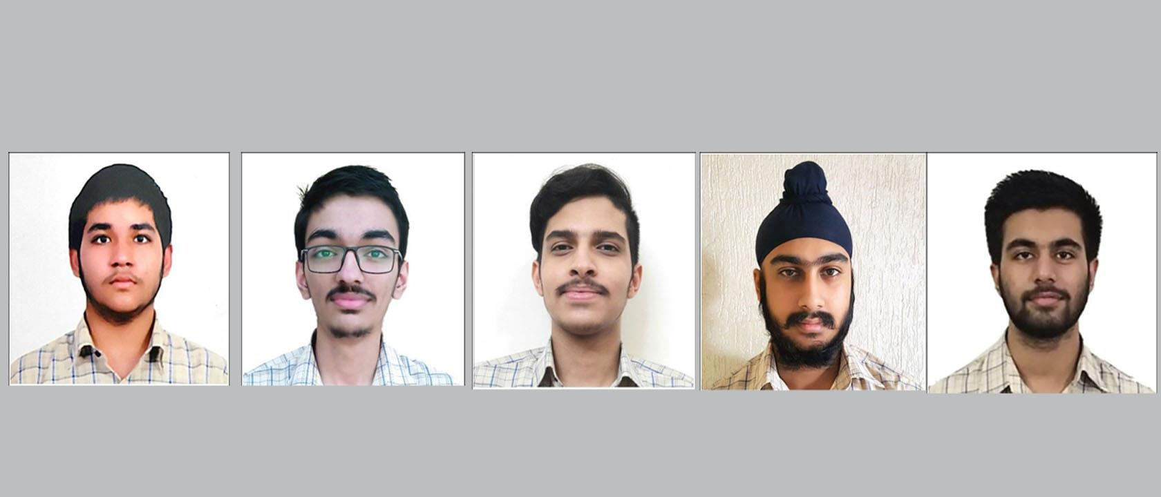 Five students qualify for prestigious KVPY scholarship