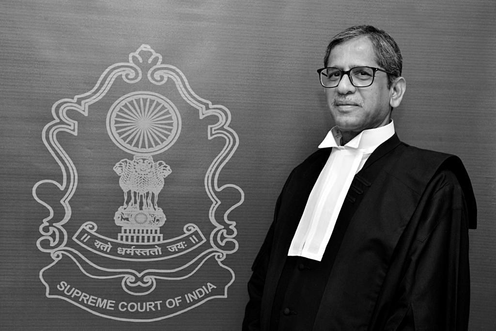 Justice NV Ramana Appointed As 48th CJI