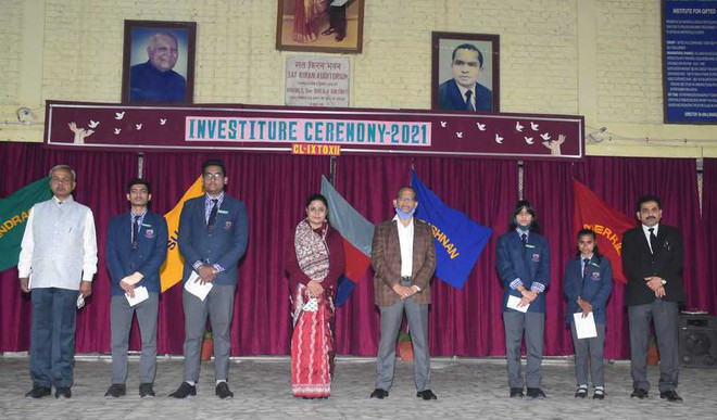CSKM Public School's 'Investiture Ceremony' held with great pomp