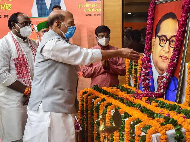 Imbibe Ambedkar's Ideals: PM