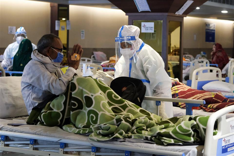 Scramble For Hospital Beds, As Cases Rocket