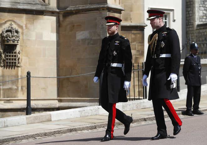 Funeral: William, Harry Won't Walk Side-By-Side