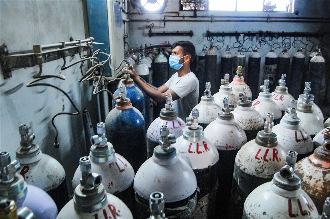 Stop Oxygen Supply For Industrial Use: Govt