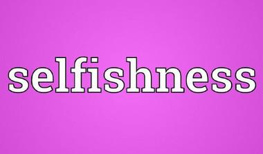 Shrestha: Isn''t Selfishness Self-Destructive?