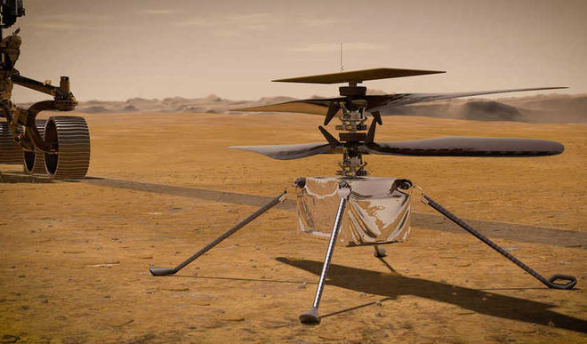 NASA's Mars Helicopter Takes Flight