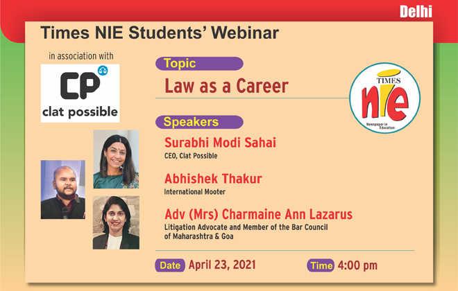 Times NIE Webinar For Students: New Delhi