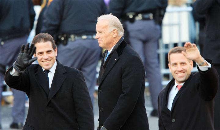 Biden Kids, Grandkids Part Of White House