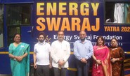 Ahlcon Intl witnesses Energy Swaraj Yatra