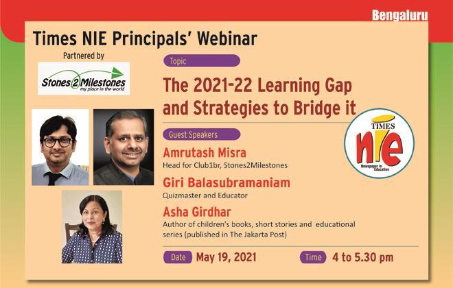 Times NIE Principals' Webinar, Bangalore