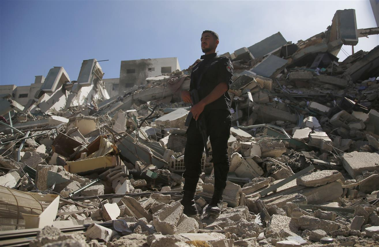 Israel Destroys AP Office In Gaza