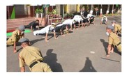 India's Navy Chief Leads Cadets By Example