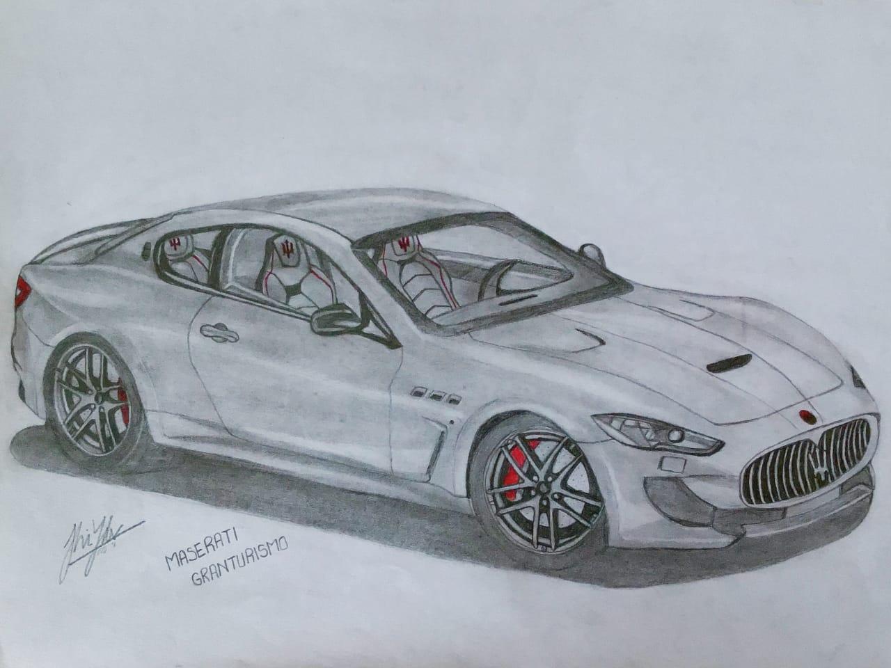 Jaanshi'a Maserati Granturismo's Sketch