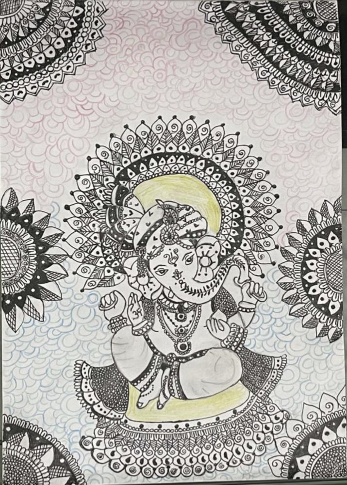 Y. Laasya's Ganesha Mandala