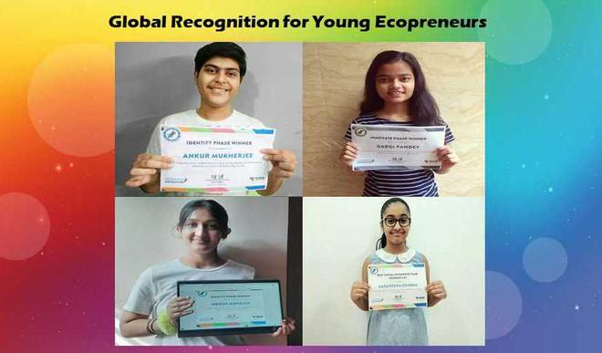 Achievements galore at M L Khanna DAV School