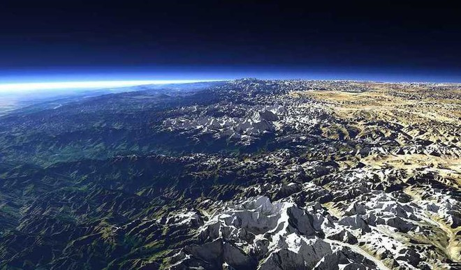 Astronaut Shares Pictures Of Himalayas