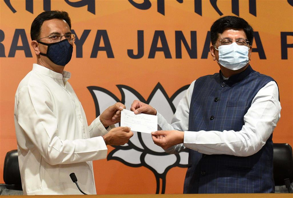 Why Prasada Joining BJP Jolts Cong?