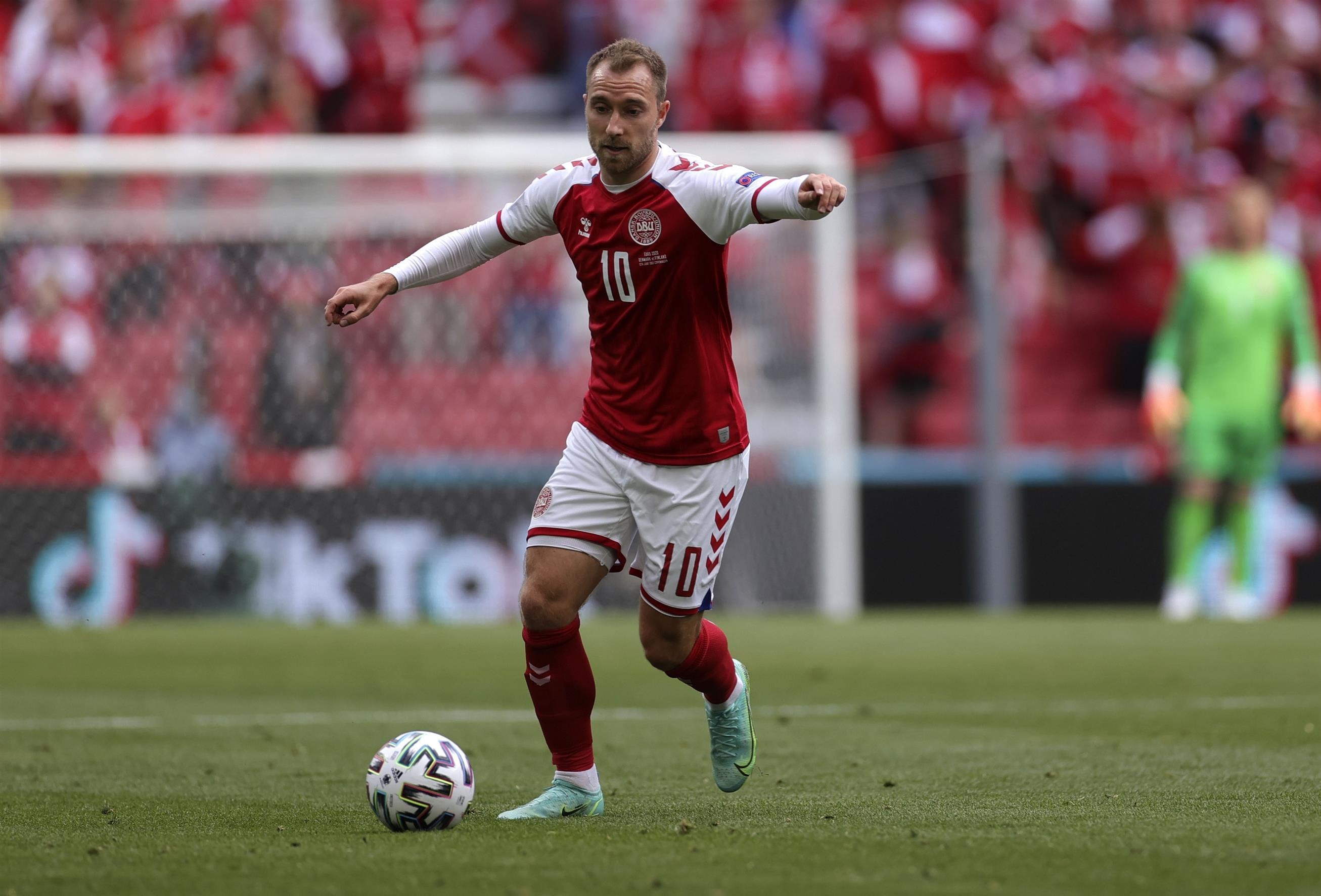 Eriksen Named Man Of The Match At Euro2020