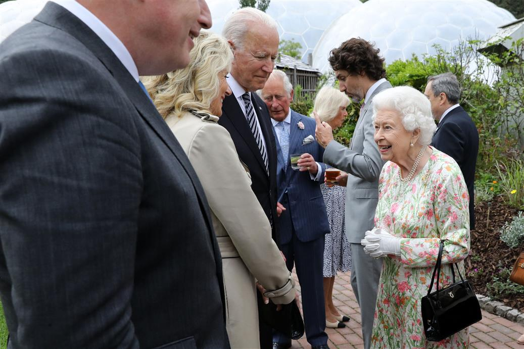 The Queen Asked About Putin, Xi: Biden