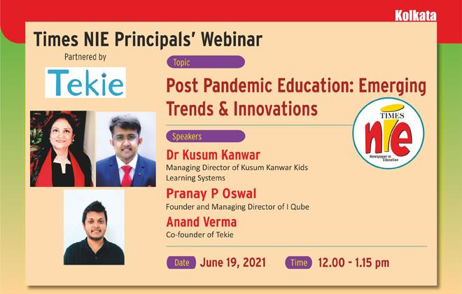 Times NIE Principals' Webinar, Kolkata