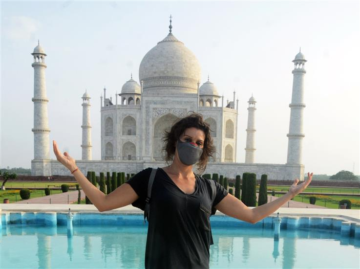 Taj Mahal Reopens After 2 Months!