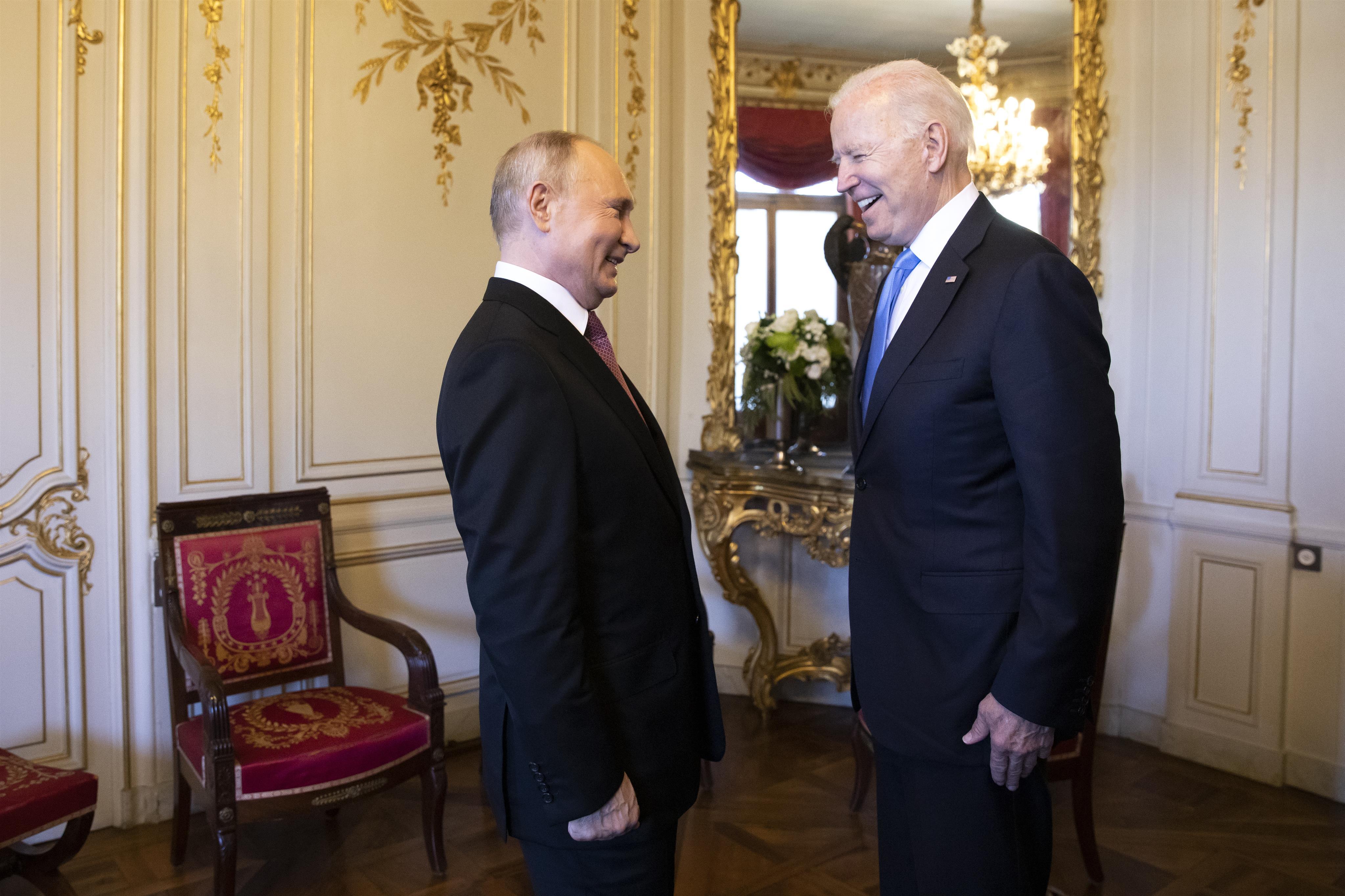 Biden, Putin Hail Positive Talks