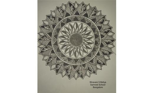 MANDALA ART: Shravani S Beliya
