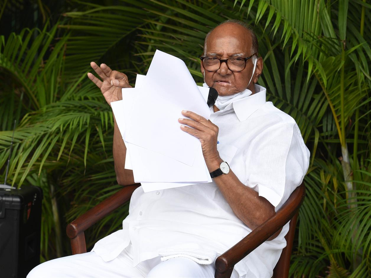 Pawar To Launch National Oppn Unity Efforts