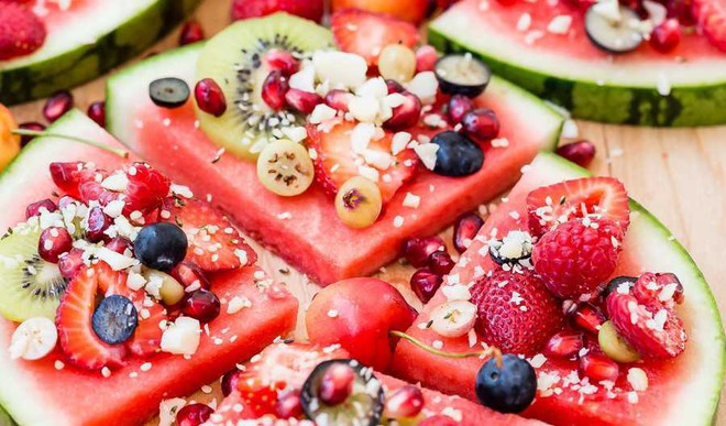 Beat Heat With Watermelon Pizza