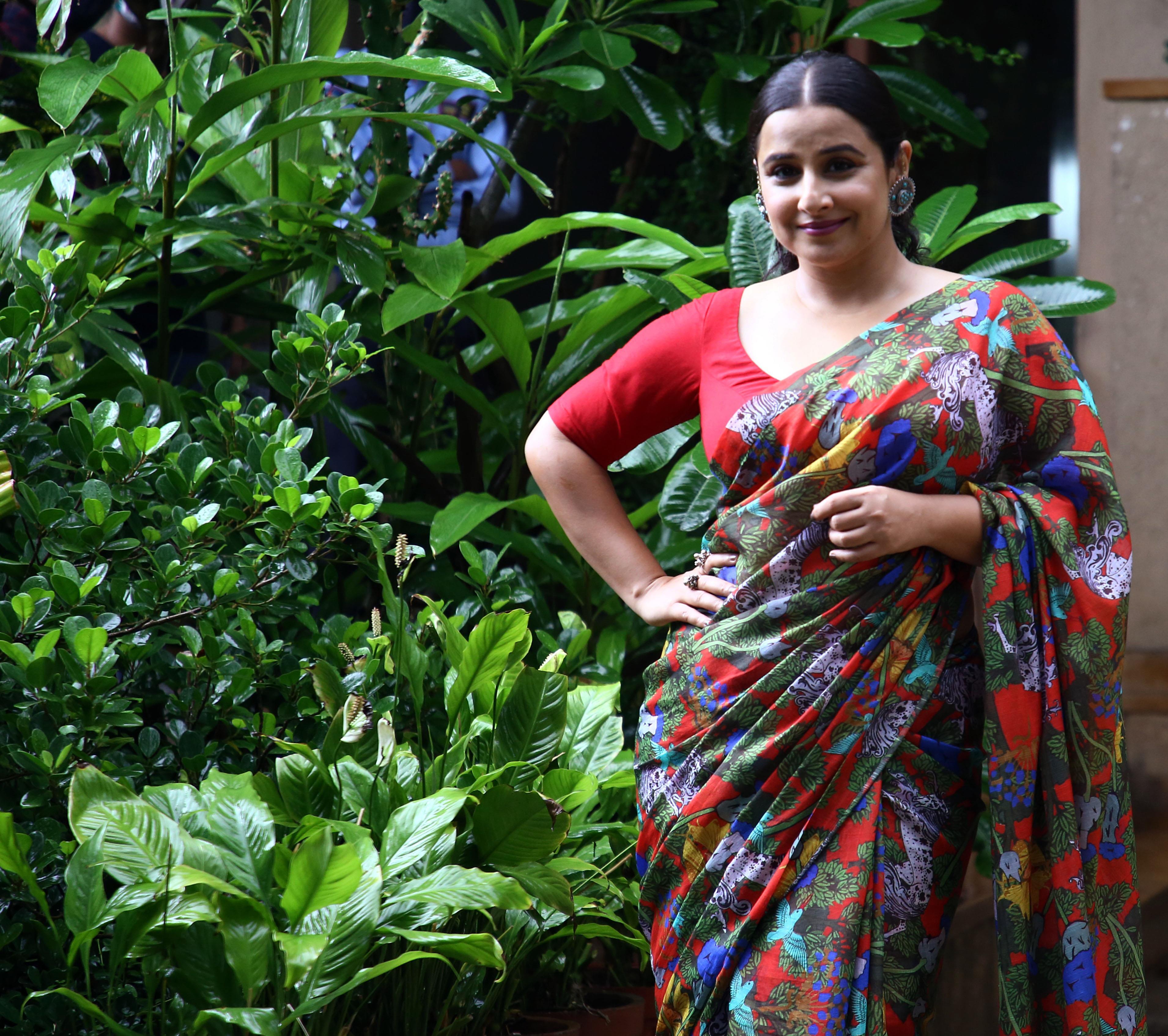 Vidya Balan Upbeat About 'Main Sherni'