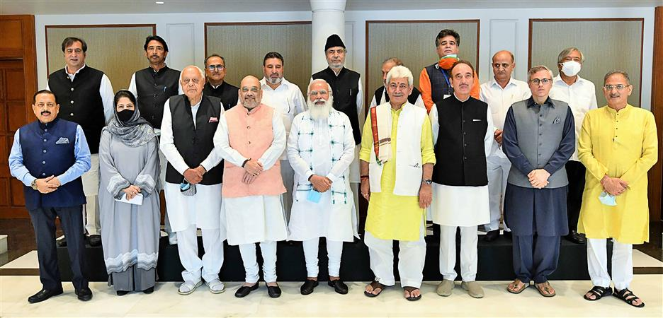 PM Chairs Meet In J-K