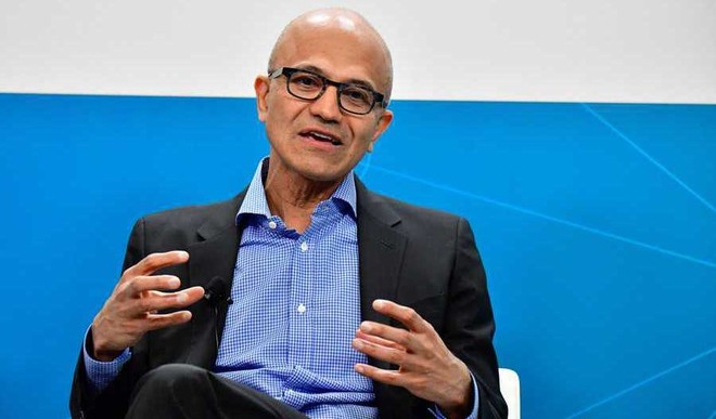 Satya Nadella On Being Microsoft's Chairman