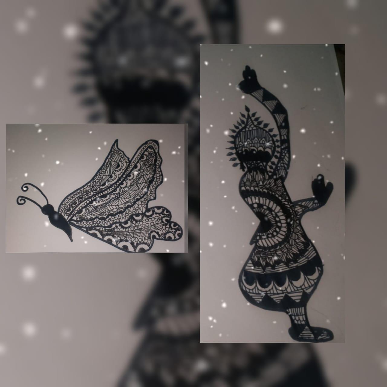 Alisha's Mandala Art
