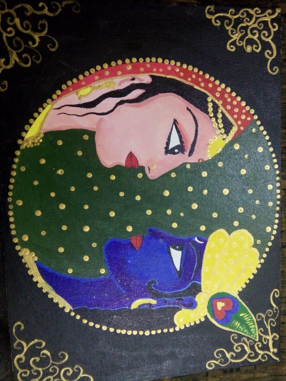 Sanskriti's Art On Canvas