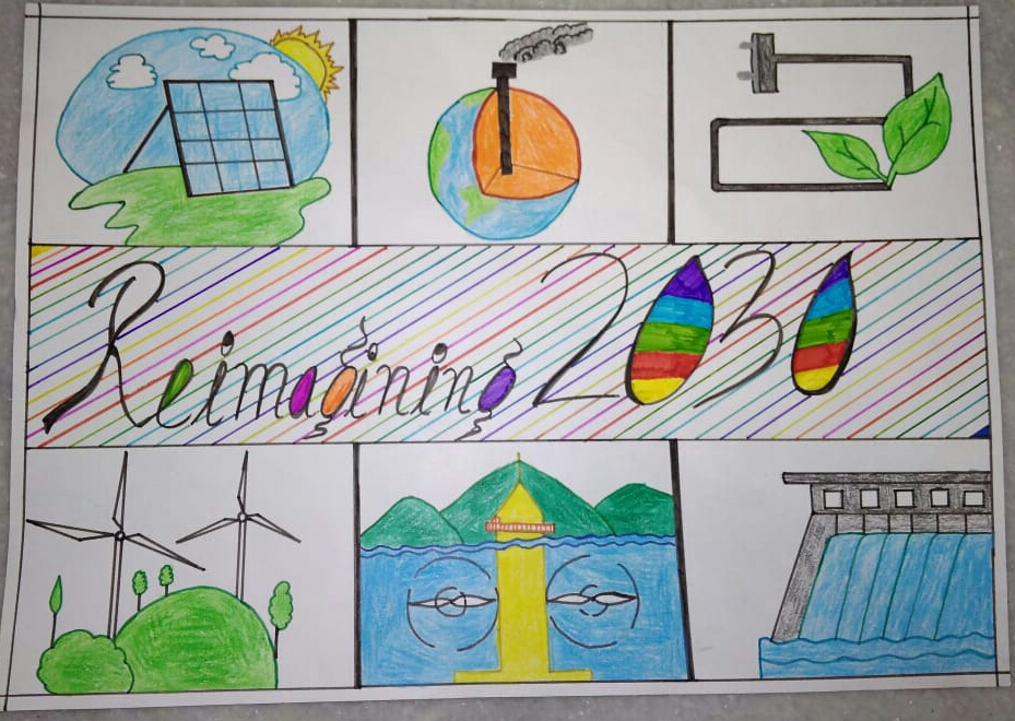 Kritik's Poster on 'Reimagining With Clean Energy'