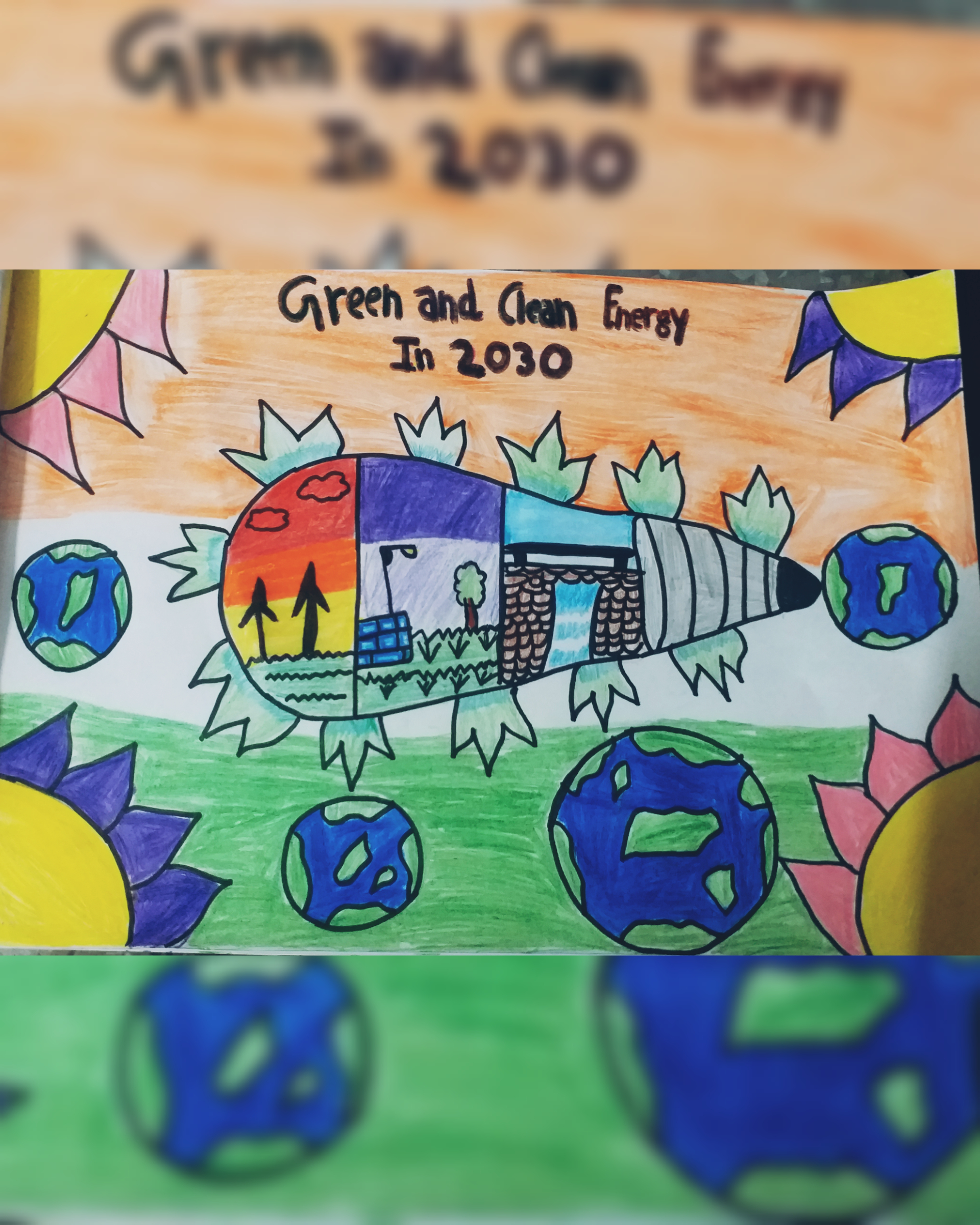 Alisha's Poster On 'Clean Energy'
