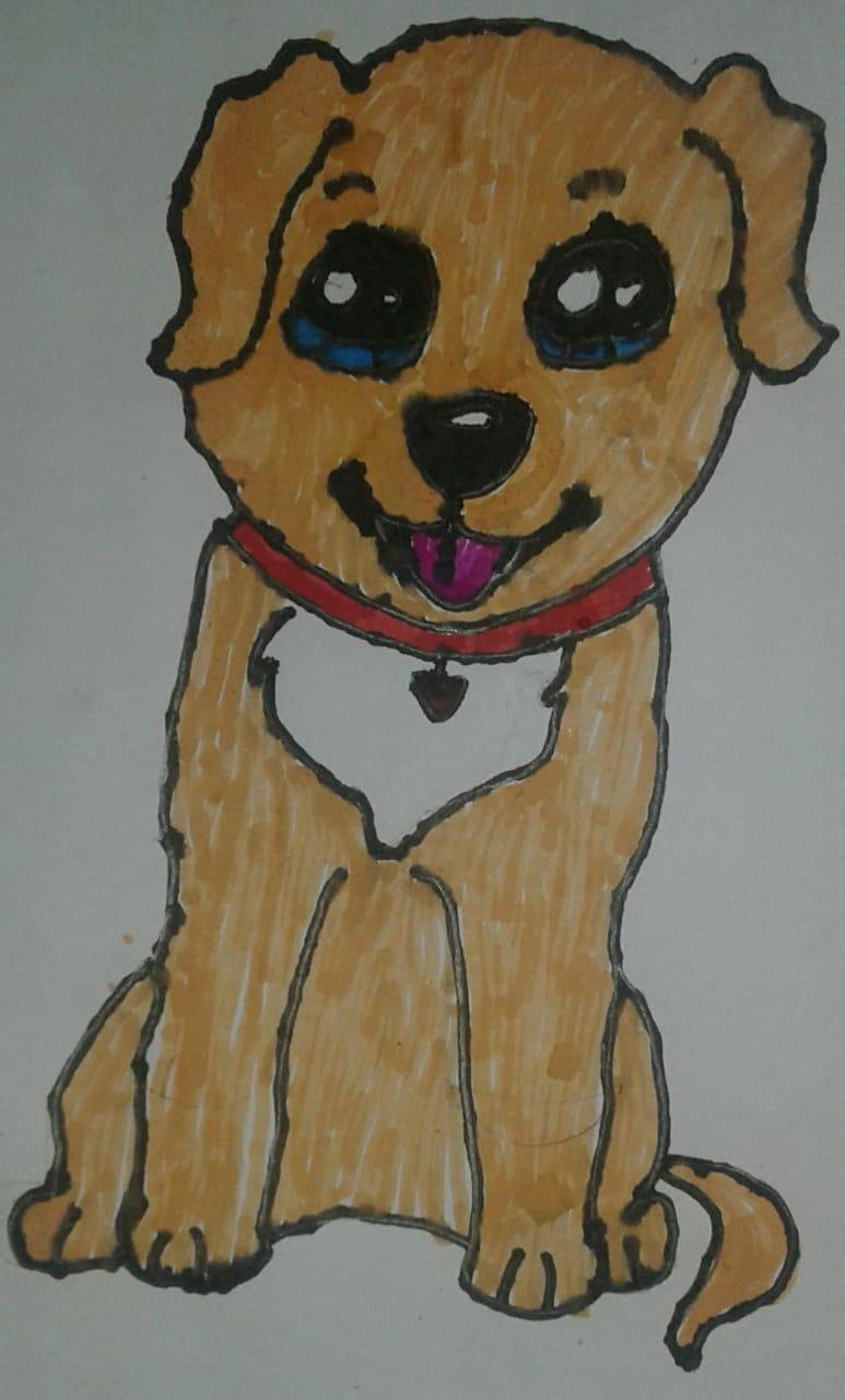 Alsiha's 'My Cute Pet Dog'