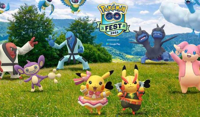 Niantic Announces Pokemon Go Fest 2021