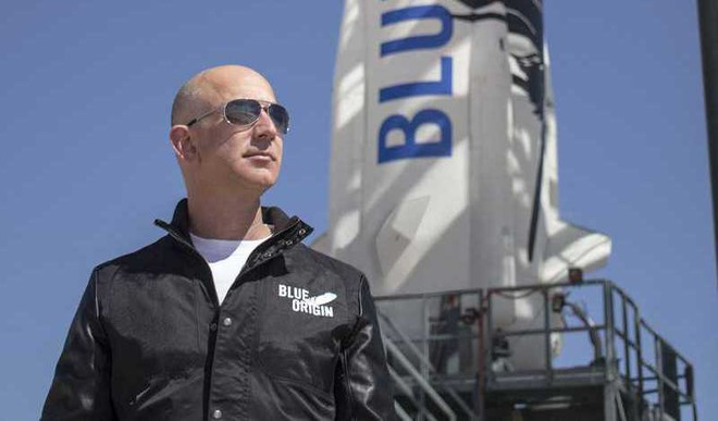 Bezos Off To Space In 2 Days