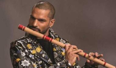 Viral: Dhawan's Flute Performance