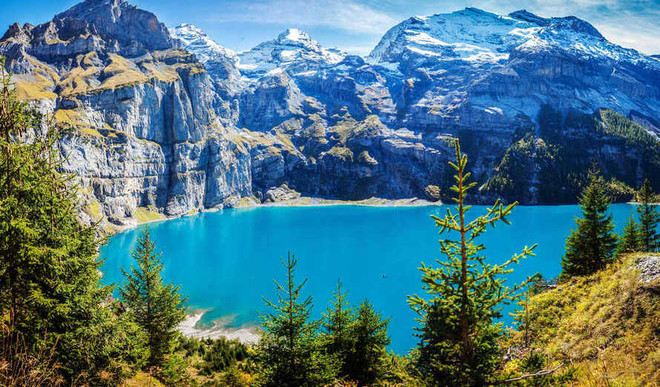 Swiss Alps Add Over 1000 Lakes!