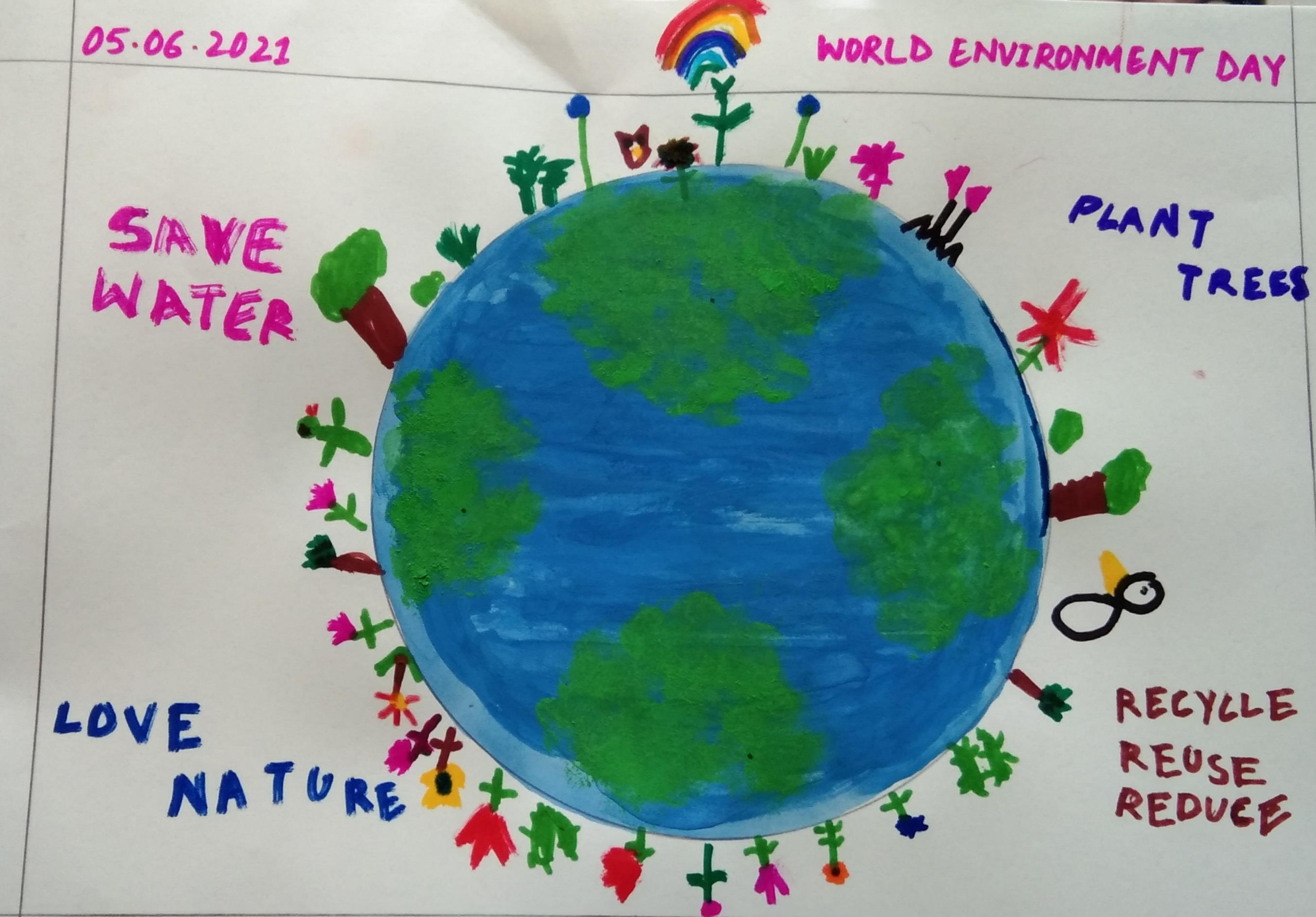SAVE THE EARTH: Dishani Mittra