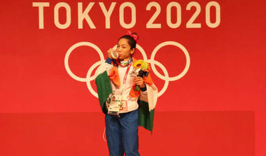 'My Silver Will Inspire Girls To Weightlift'
