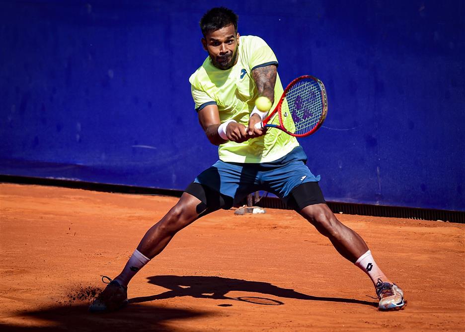 Nagal Gives India Tennis Singles Win