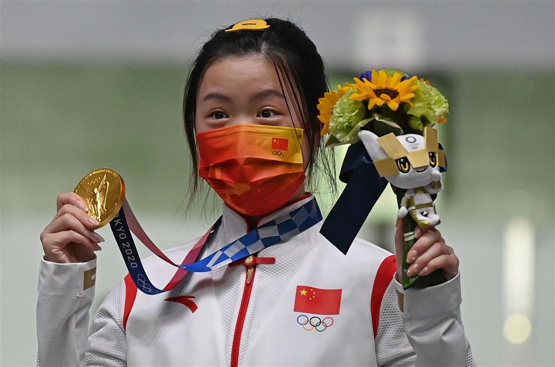 Yang Qian Wins First Gold Of Tokyo 2020